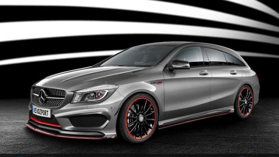 RevoZport tunes the Mercedes CLA Shooting Brake to 450 PS