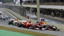 Brazilian grand prix race start 25.11.2012