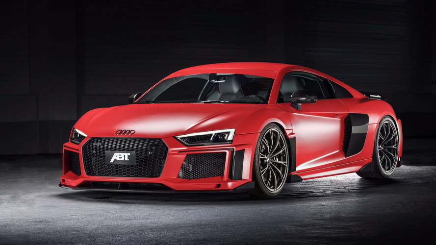 Audi R8 V10 Plus gets striking looks, 20-hp bump from ABT