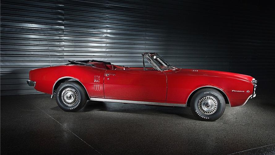 Pontiac Firebird Barrett-Jackson Auction