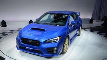 2015 Subaru WRX STI live at 2014 NAIAS
