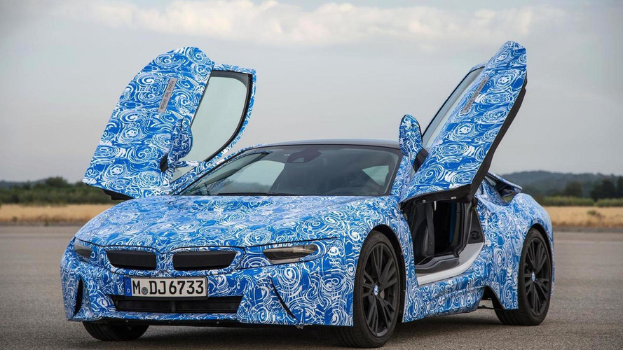 2014 BMW i8 specifications released