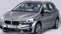 2014 BMW 2-Series Active Tourer leaked official photo