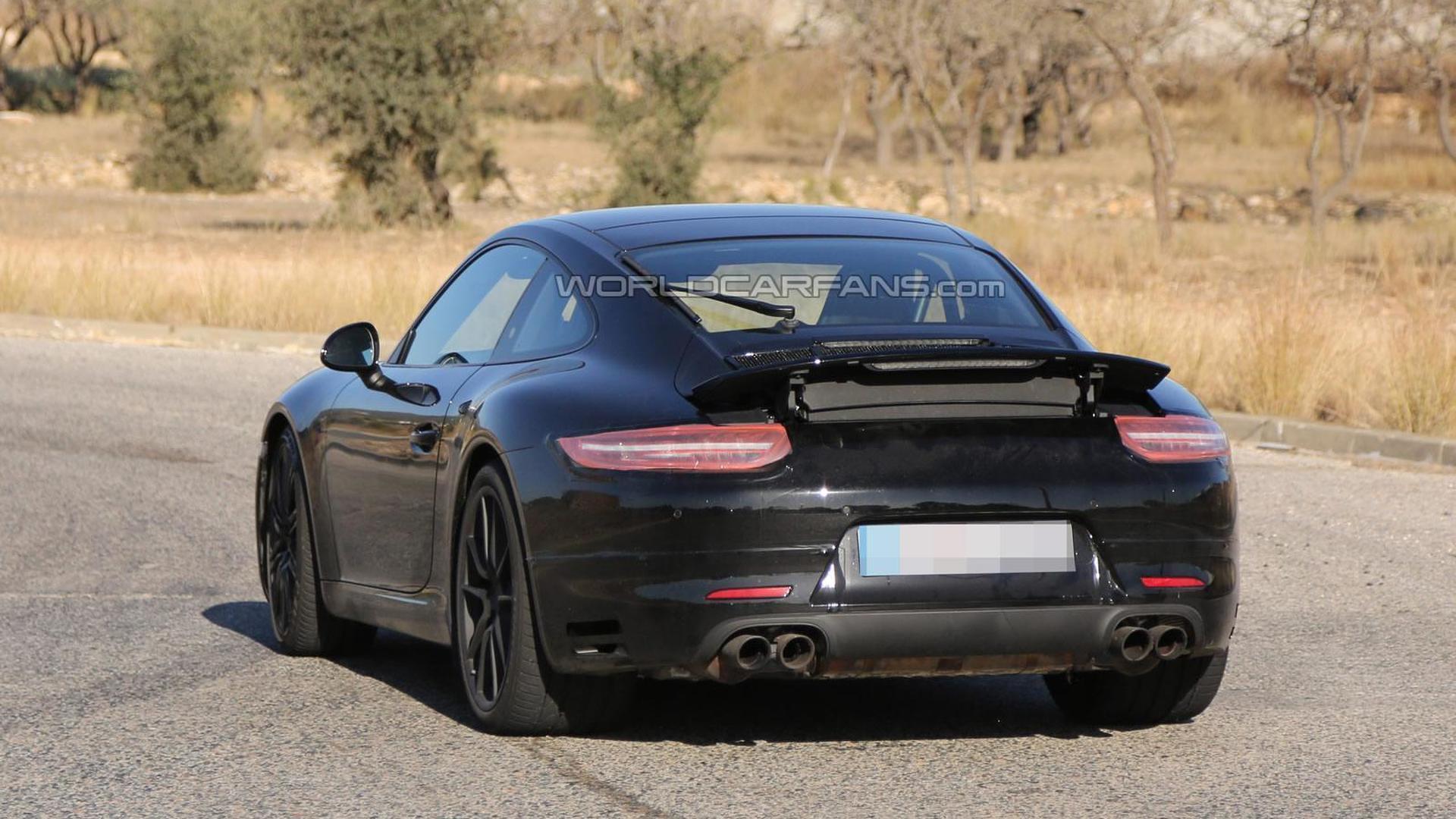 2015 Porsche 911 / 911 GTS spied again