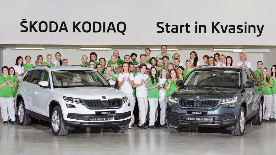 Skoda Kodiaq production starts in the Czech Republic