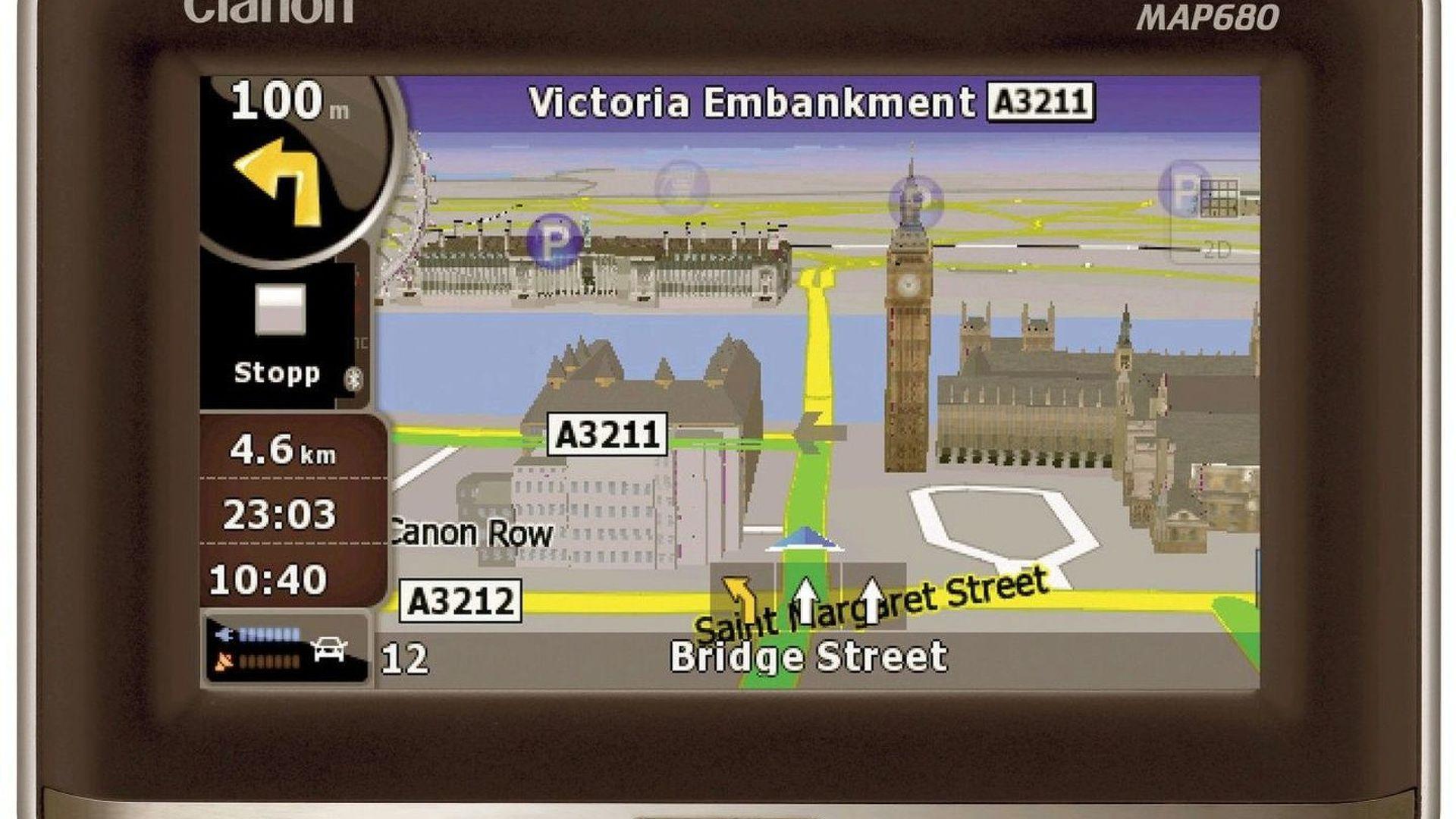Clarion Introduces New 3D Portable Navigation Unit (UK)