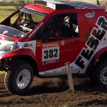 A Smart ForTwo Rally Car? The Dakar Rally Has Never Been This Cute!