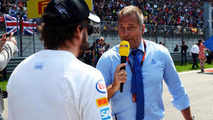 Sky presenter suspended for Alonso insult
