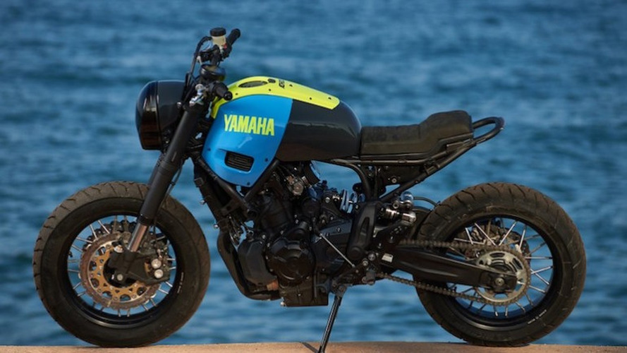 'Otokomae' custom Yamaha XSR700 a thing to behold