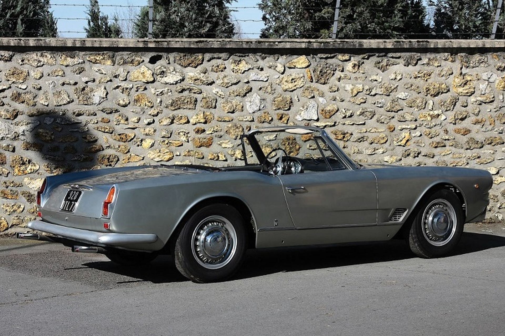 The 1960 3500 Vignale Spyder Marked New A New Direction for Maserati