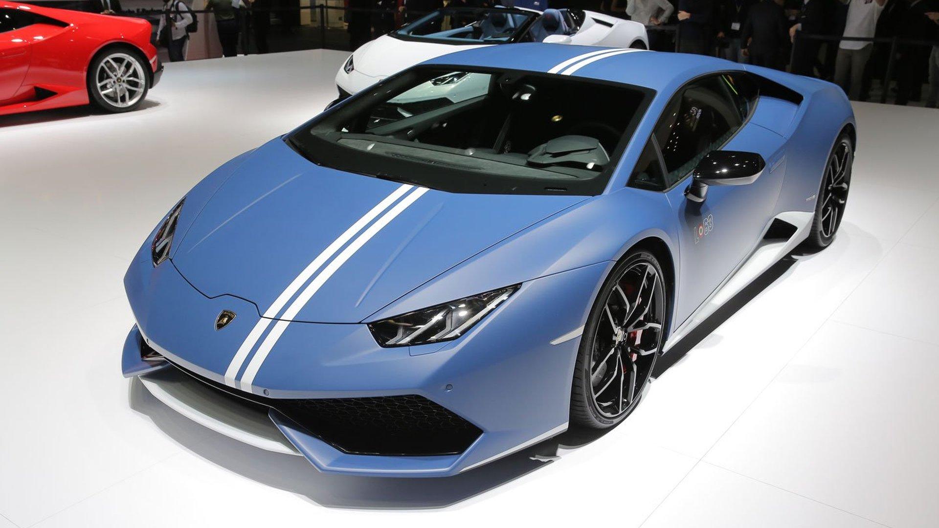 Lamborghini Huracan Avio has visual tweaks in Geneva