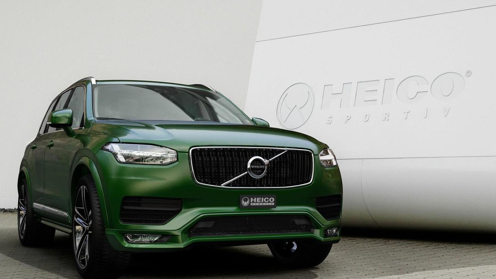 2015 Volvo XC90 gets styling package from Heico Sportiv