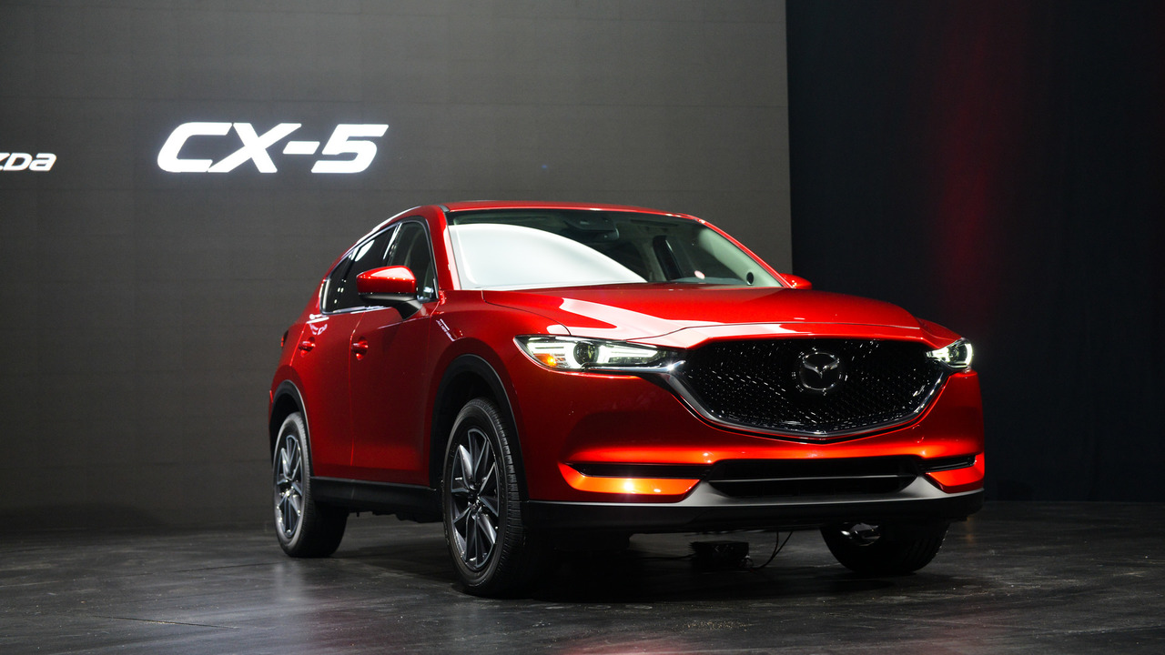 All-new 2017 Mazda CX-5 makes designing gorgeous ...
