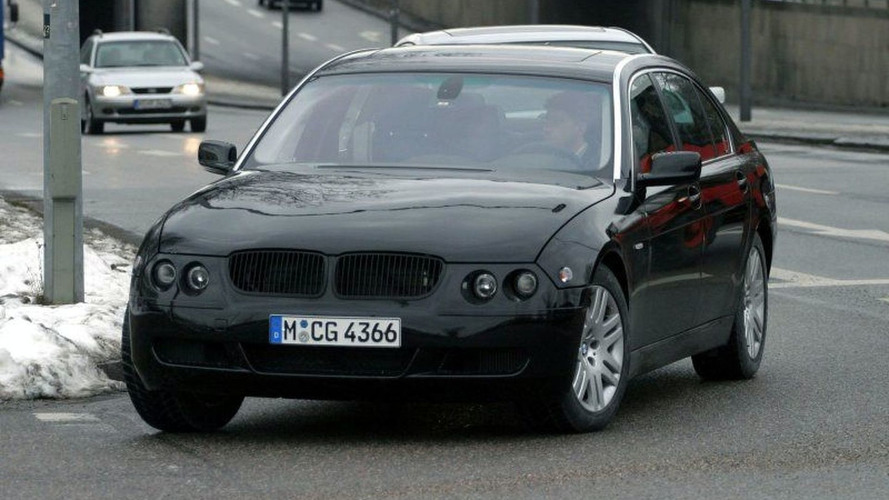 New BMW 7-Series Spy Photos