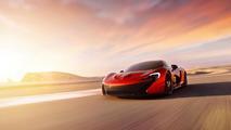 McLaren P1 at the Bahrain International Circuit 16.4.2013