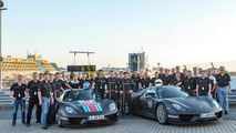 Porsche 918 Spyder production model breaks Nurburgring ring record