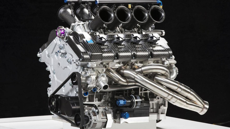 Volvo unveils their 5.0-liter V8 engine for the V8 Supercar Championship