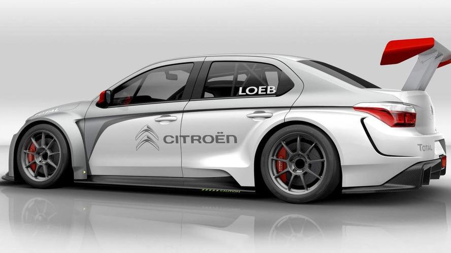 Citroen C-Elysée WTCC teased for Frankfurt
