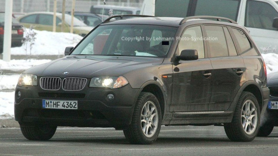 BMW X3 Facelift Undisguised