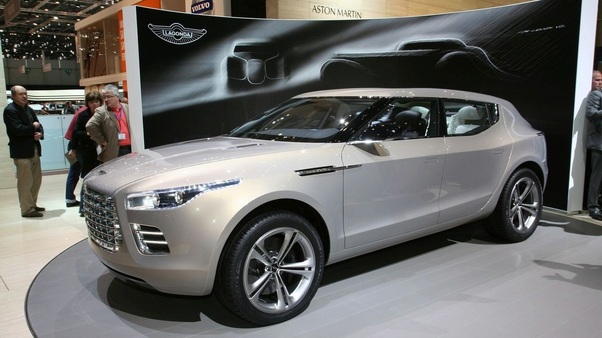 Aston Martin Unveils Lagonda Concept at Geneva