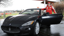 Fernando Alonso takes delivery of 2011 Maserati GranCabrio 18.03.2010