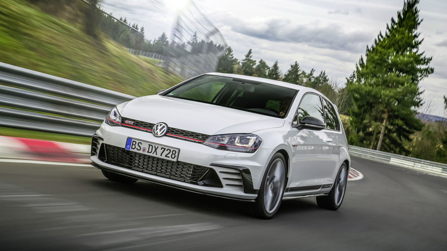 VW Golf GTI Clubsport S unveiled as the fastest front-wheel drive car to lap the Nürburgring