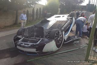 Journalist Flips BMW i8 During Test Drive