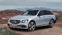 Mercedes E-Class All Terrain speculatively rendered