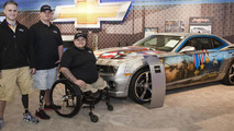Special Military Tribute Camaro auctions for $175K