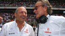 Ron Dennis, McLaren, Team Principal, Chairman and Mansour Ojjeh