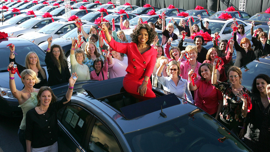 Oprah's famous car giveaway: 6 things you probably didn't know