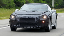Fiat 124 Spider spied for the first time