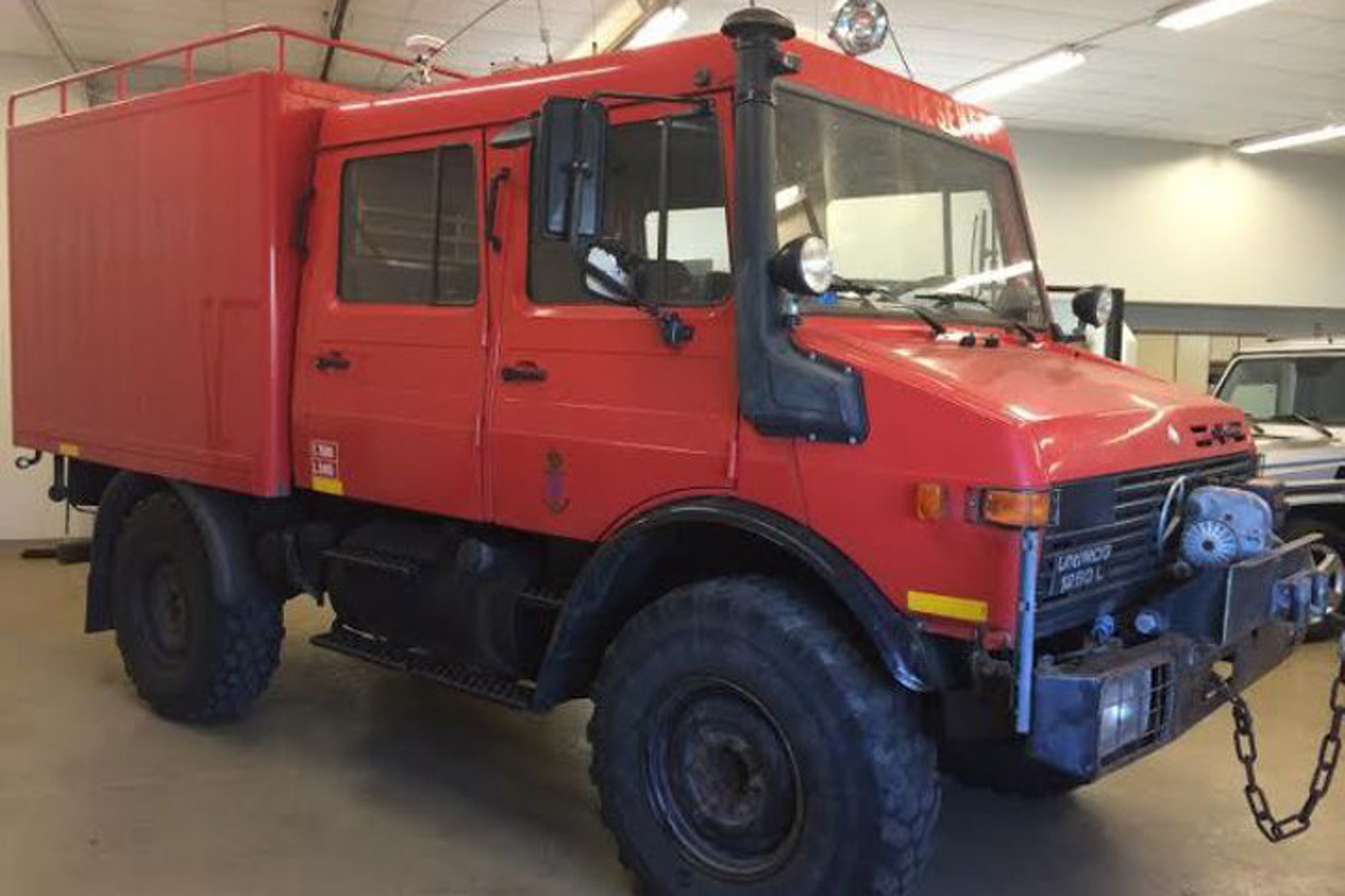 Protect the Coast in this Ex-Danish Navy Unimog