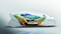 IED Shiwa concept is a futuristic, autonomous EV [video]