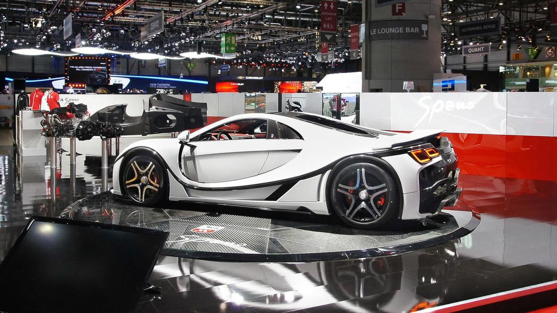 2015 GTA Spano unleashed in Geneva [video]