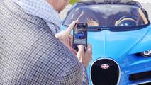 Bugatti Chiron at Parmigiani Fleurier