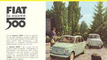 Retro-inspired Fiat 500 1957 Edition announced for the L.A. Auto Show