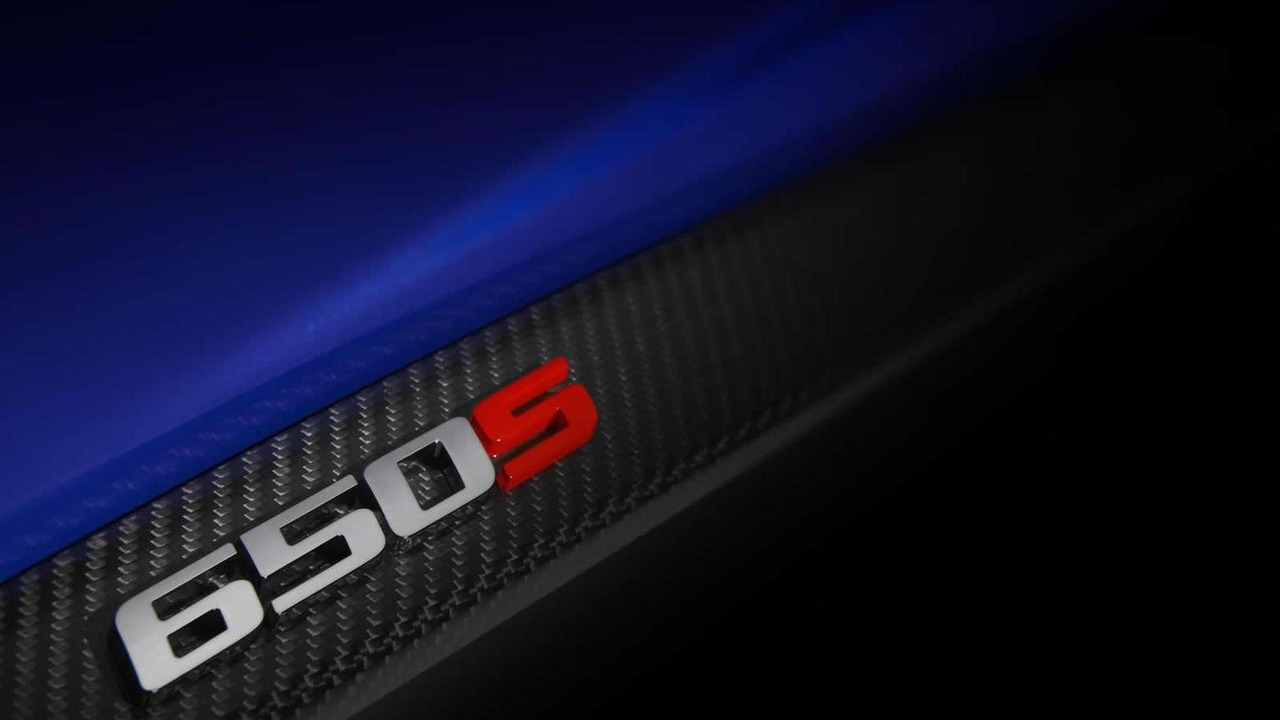 McLaren 650S teaser