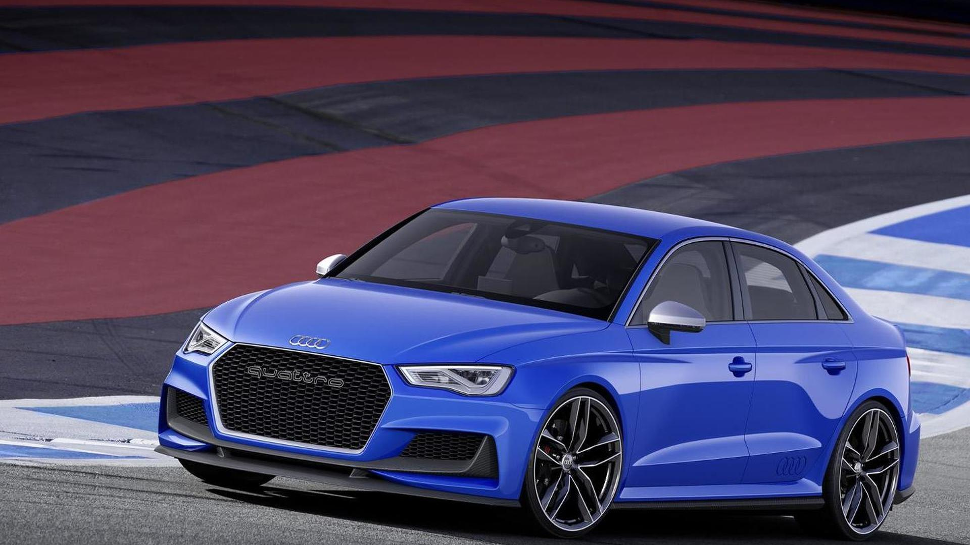 Audi unveils hardcore A3 clubsport quattro concept with 525 PS