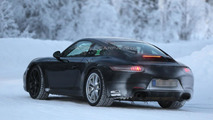 Porsche 911 facelift spied in Coupe, Cabriolet and Turbo guises