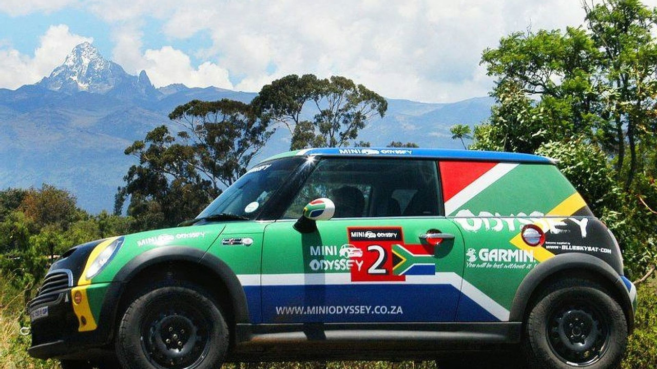 MINI Odyssey From South Africa to England