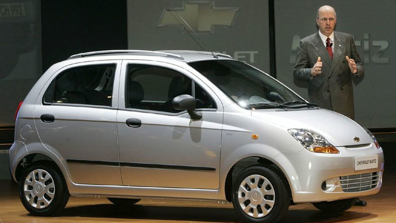 Chevrolet Matiz Introduced at Geneva