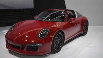 Porsche 911 Targa 4 GTS live at NAIAS