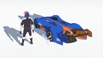Renault shows Alpine Vision Gran Turismo inspirations