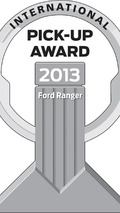 PUOY logo 2013 Ford Ranger is the winner