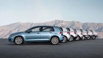 Volkswagen builds the 30 millionth Golf