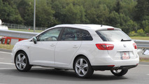 2012 Seat Ibiza ST FR spied near the Nürburgring