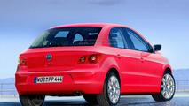 VW Polo V Rendering and New Seat Ibiza Spy Photo