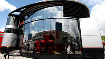 Huge motor homes absent in Barcelona paddock