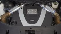 Mercedes B55 hot rod prototype smoking the tires [video]
